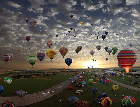 Balloon Fiesta Every October.