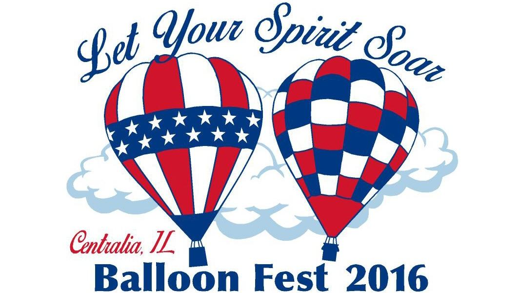 Centralia Balloon Fest 2016, Centralia, Illinois.