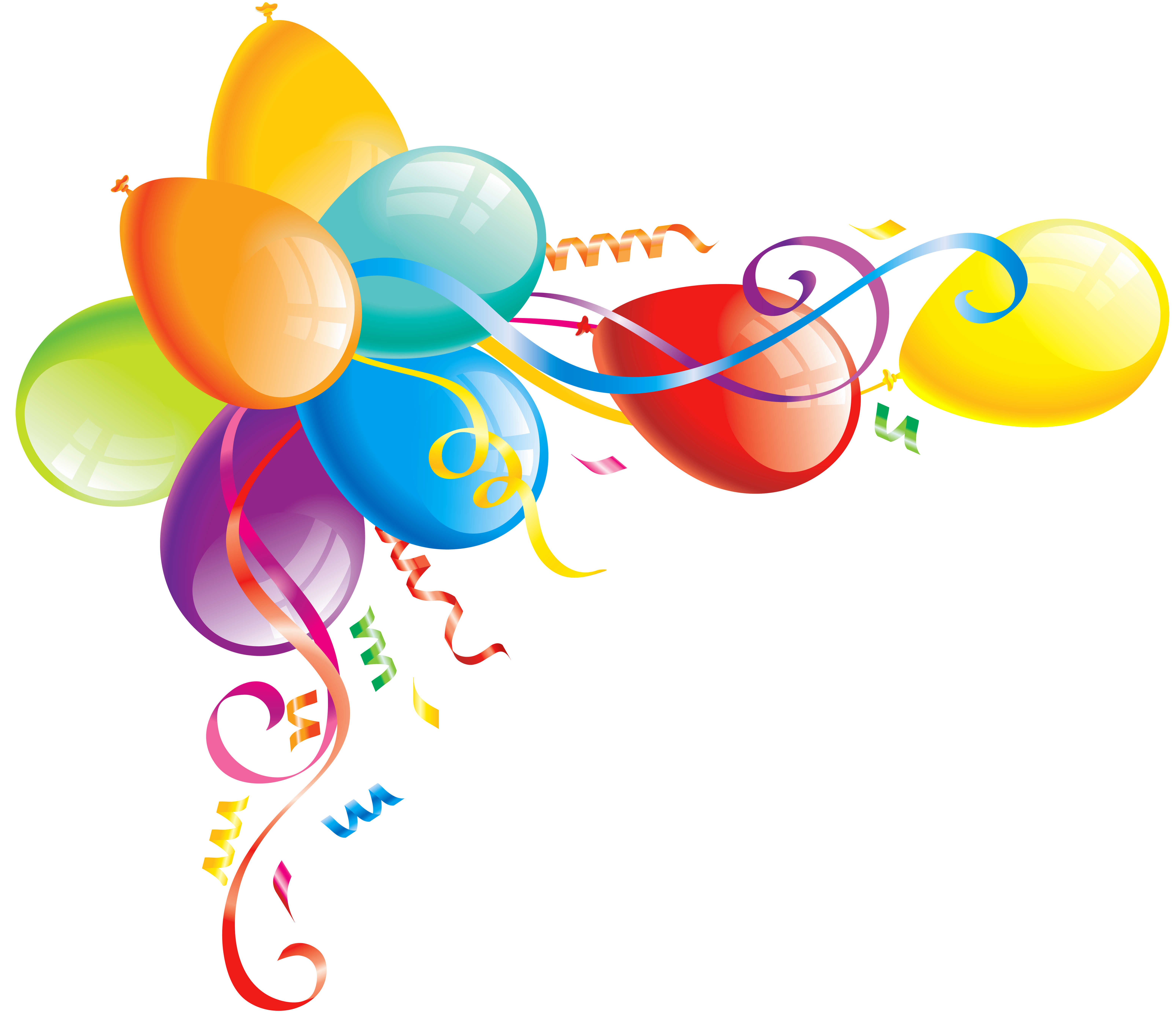 Garland clipart balloon, Garland balloon Transparent FREE.