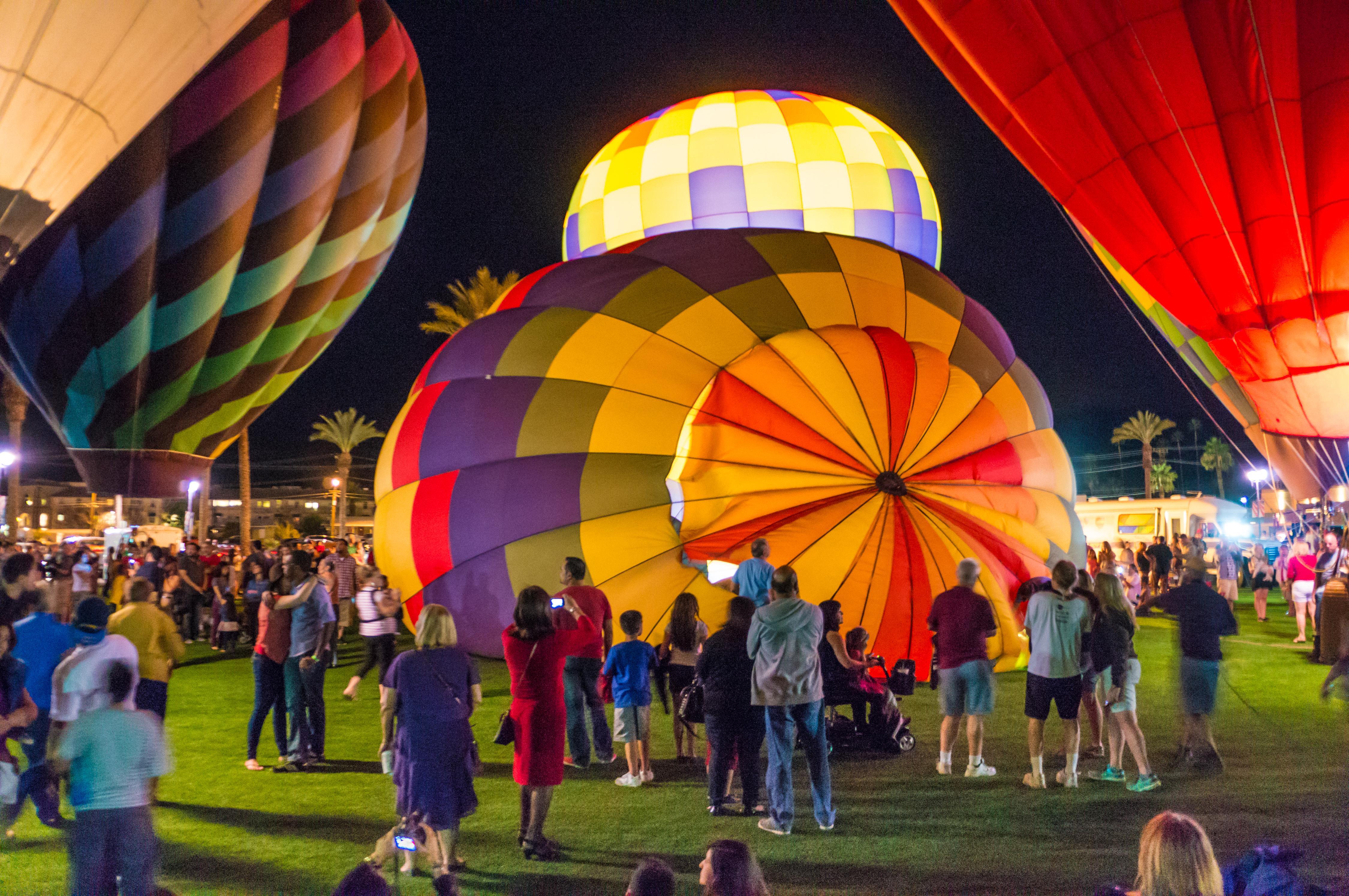Hot Air Balloon Flights.