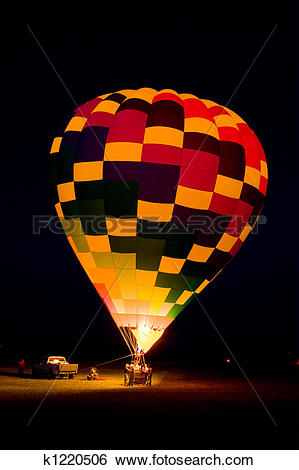 Stock Images of Balloon Glow k1220506.