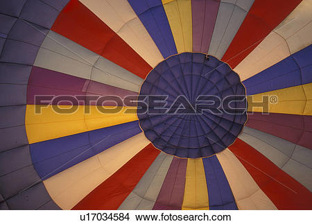 Stock Photo of hot air balloon, Vermont, VT, Essex Junction.