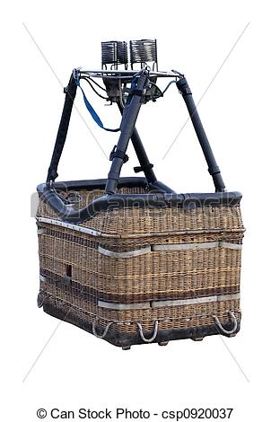 Picture of Hot Air Balloon Basket.