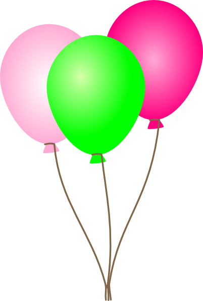Clipart balloons.