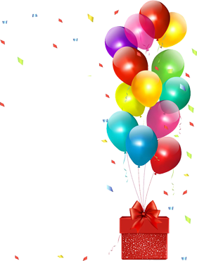Balloon PNG images and Clipart with alfa transparent background.