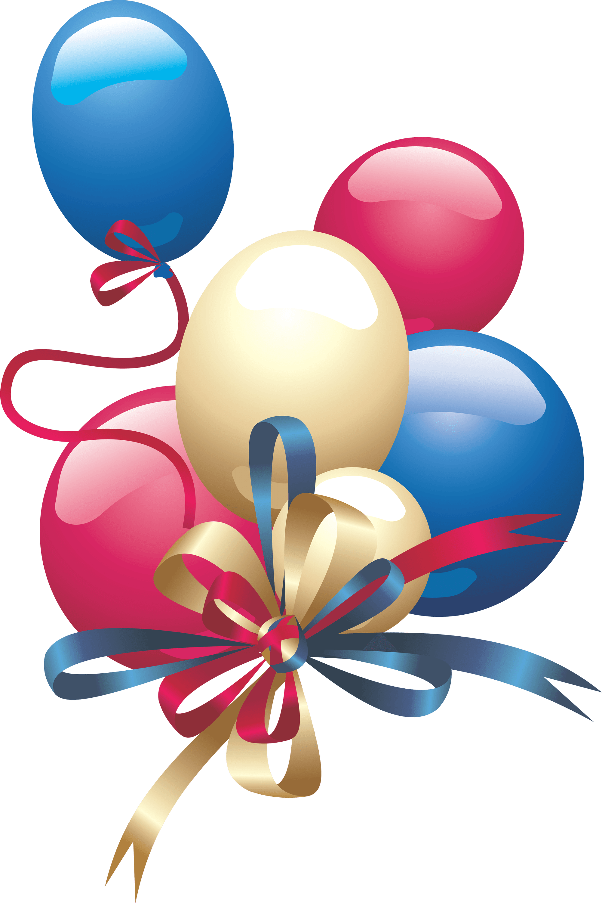 Party Balloon transparent PNG.