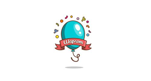 Inspiring Balloon Logo Design.