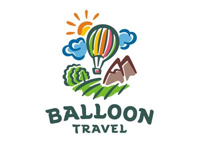 Balloon logo template by dizamax on Dribbble.