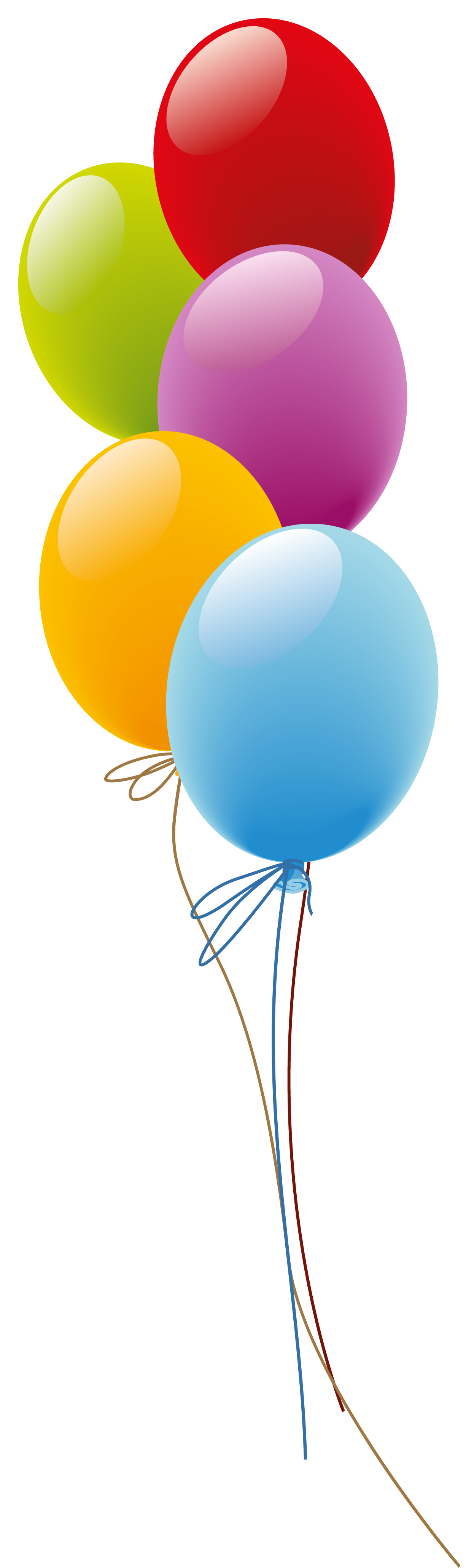 Balloons PNG Clipart.