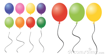 Number 2 Balloon Clipart.