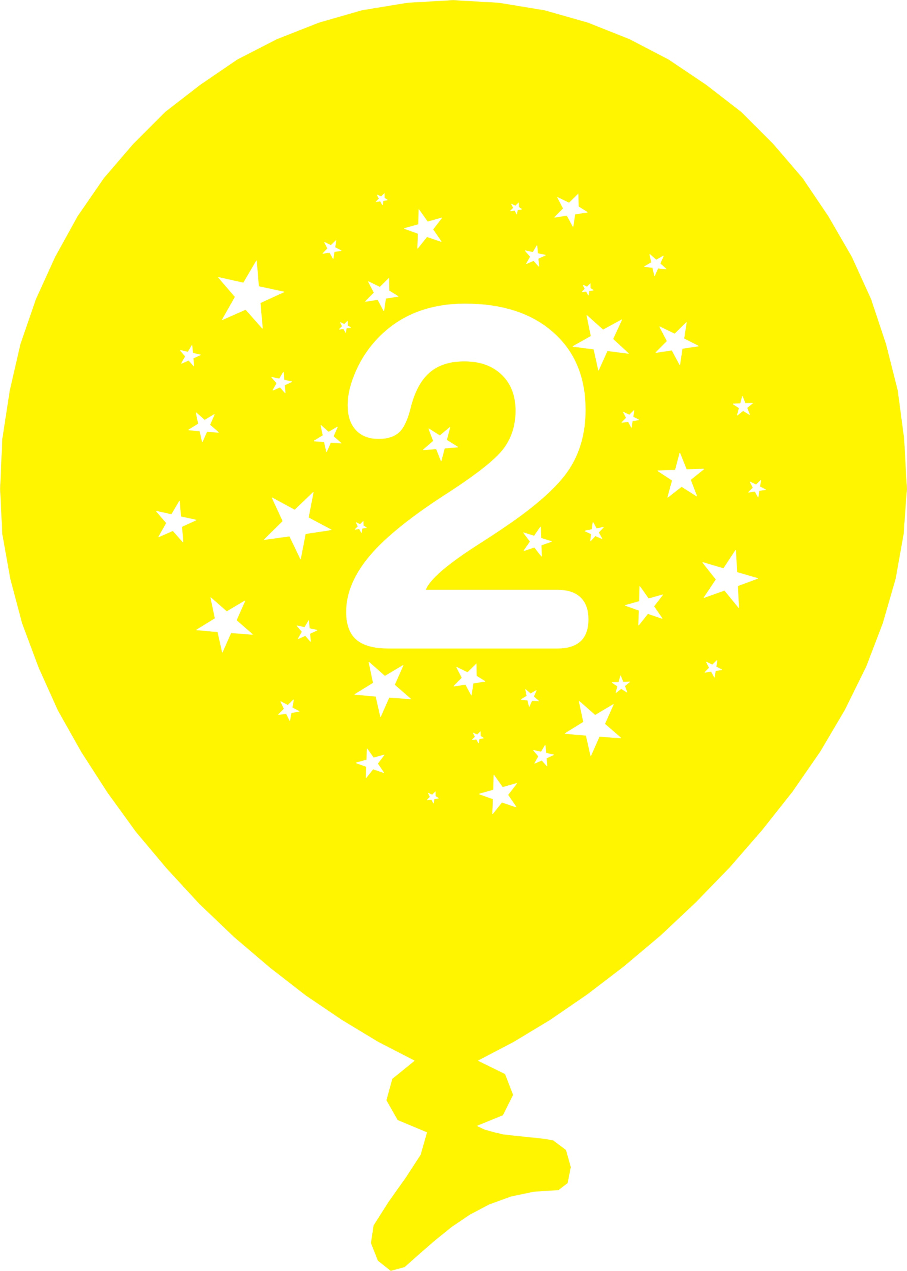 Number 2 Balloon Clipart 20 Free Cliparts