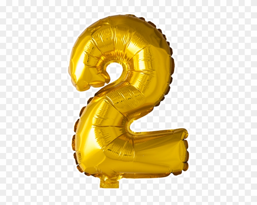 Balloons Number 2 Png, Transparent Png.