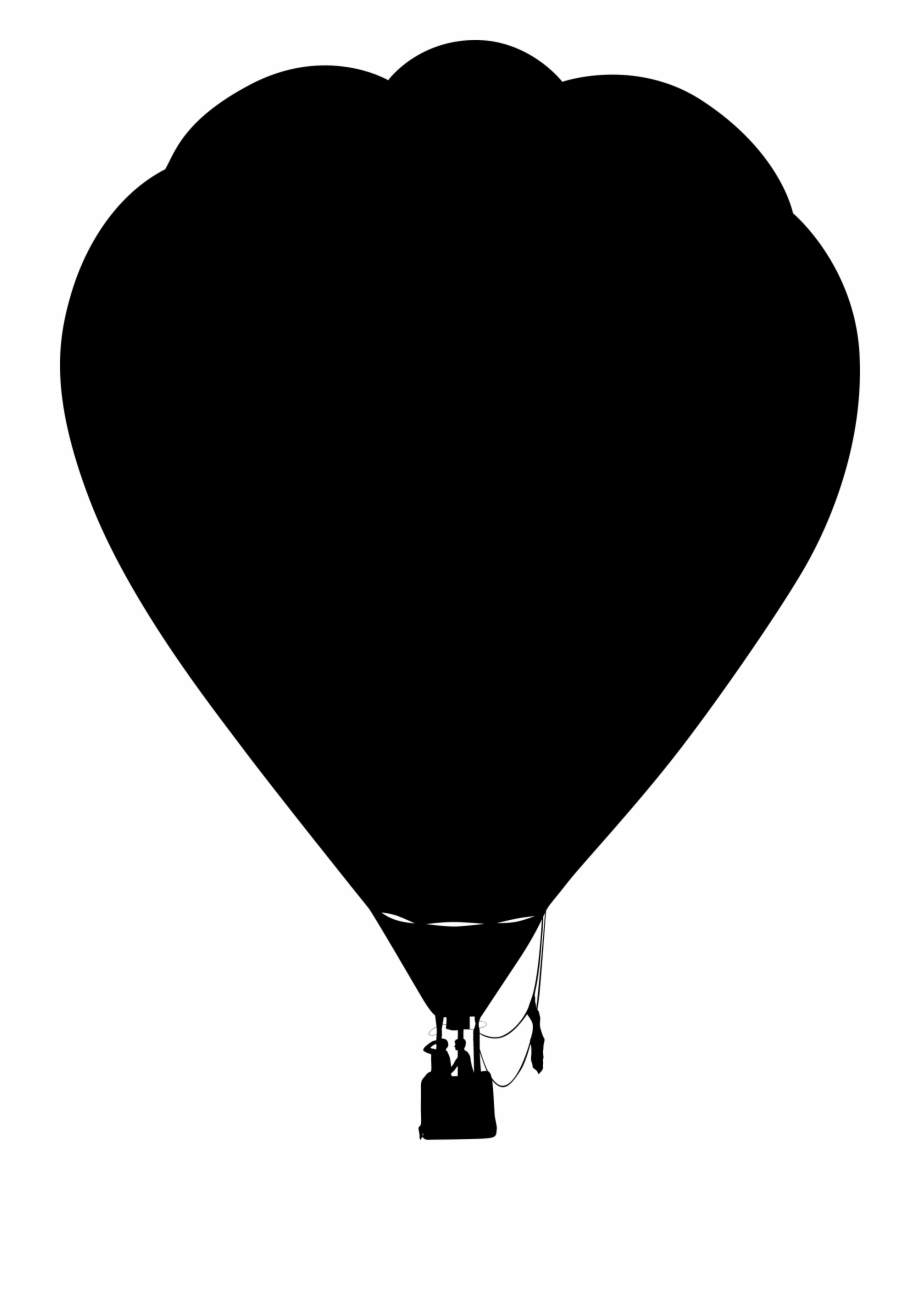 This Free Icons Png Design Of Hot Air Balloon Outline.