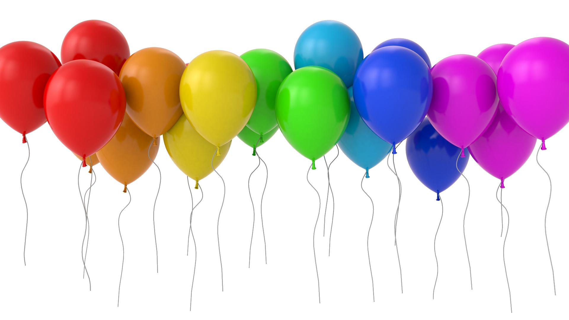 Balloons HD Desktop Wallpaper High.