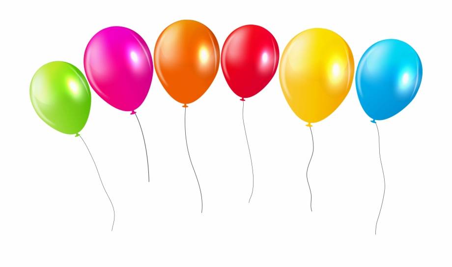 Balloons Png Transparent.
