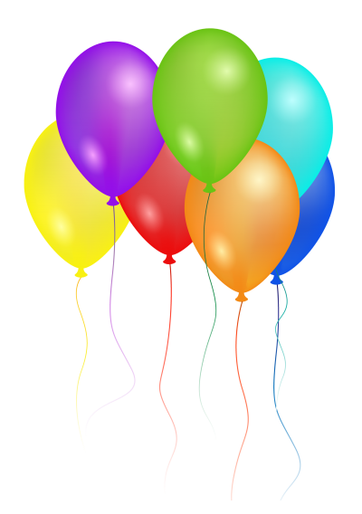 Download BALLOONS Free PNG transparent image and clipart.