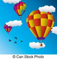 Hot air balloon racing Vector Clip Art EPS Images. 103 Hot air.