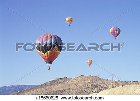Stock Image of Hot Air Balloon Race u15660625.