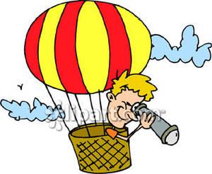 Hot Air Balloon Clipart Baby.