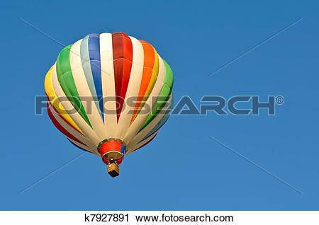 Stock Photography of Hot Air Balloon Race in Reno Nevada k7927891.