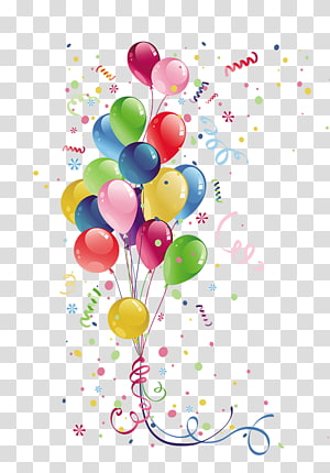 Balloon transparent background PNG cliparts free download.