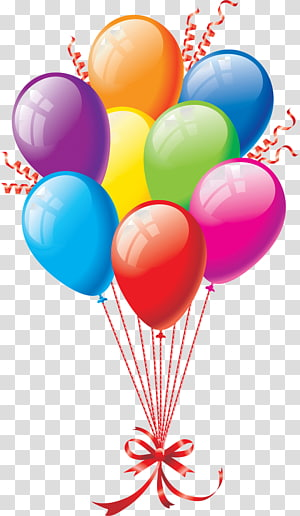 Bundle of balloons, Balloon Icon, balloon transparent.