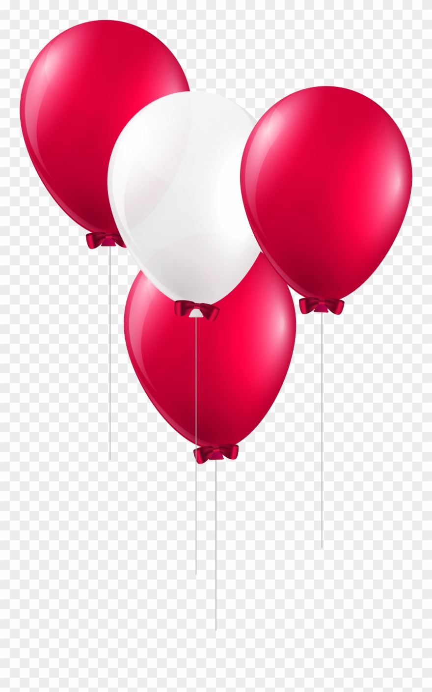Picture Ballon Vector Balloon Ribbon.