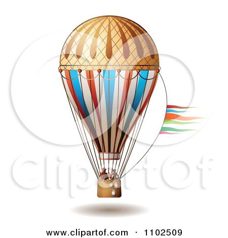 Balloon ride clipart #13