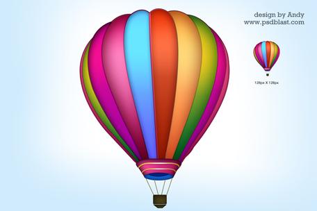 Balloon ride clipart #20