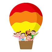 Balloon ride clipart #18