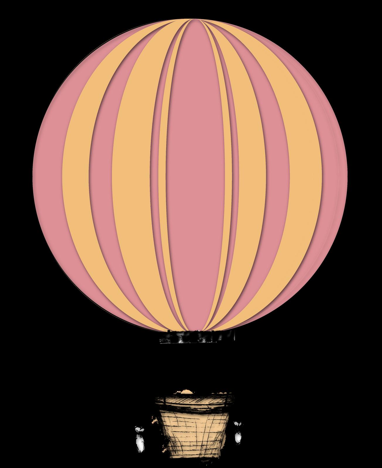 Balloon ride clipart.