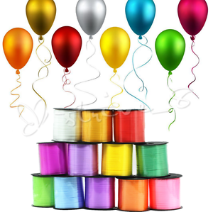 Details about 250Yd Wedding Birthday Gift Wrap Party Decor Balloon Color  Curling Ribbon Roll S.