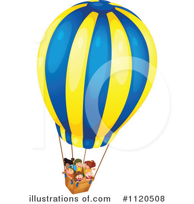 Hot Air Balloon Clipart #1120508.