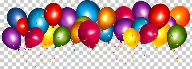 Balloon Confetti Party Gift Birthday PNG, Clipart, Balloon, Balloons.