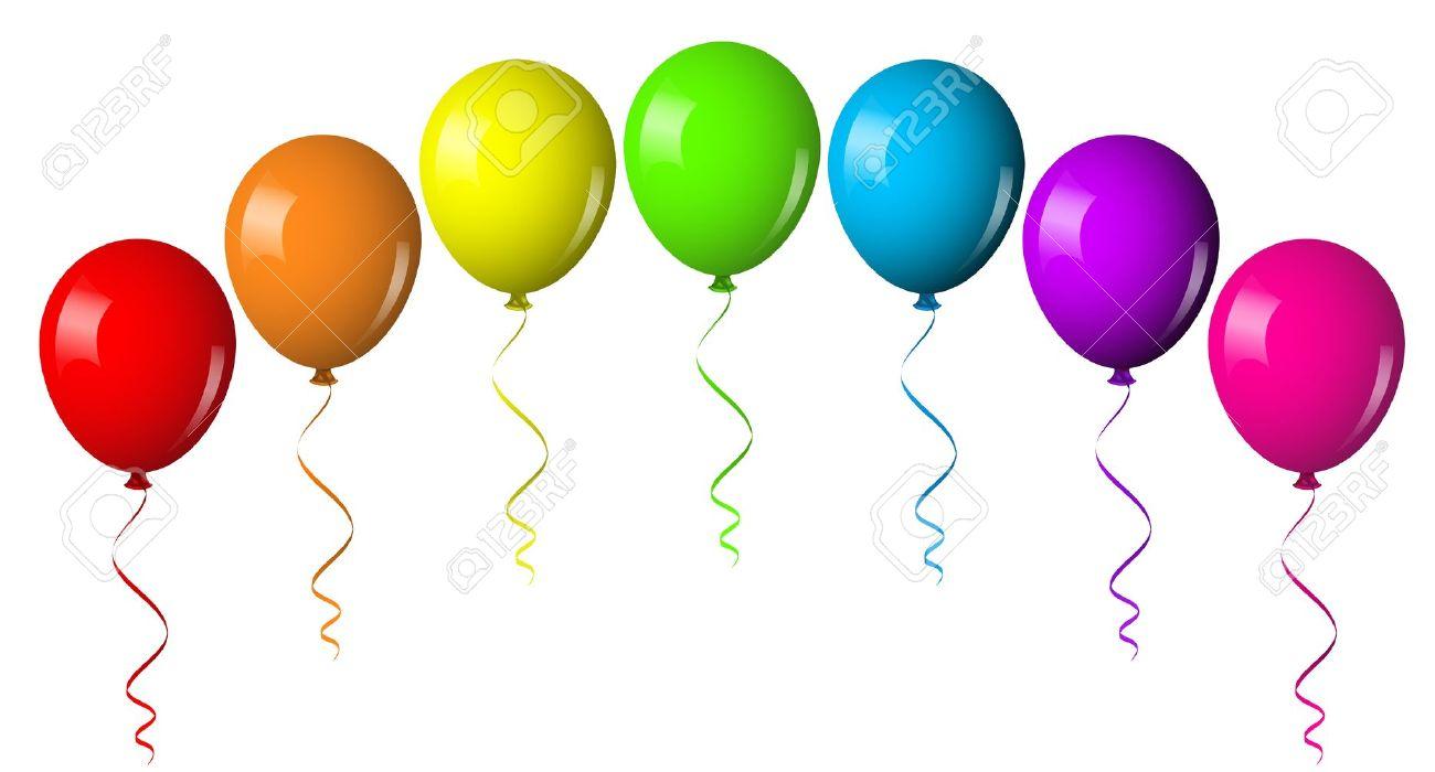 Balloons Clipart.