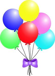 Balloons Clip Art Transparent Background.