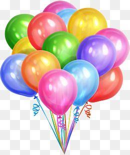 Colorful Dream Balloons, Colorful, Dream, Balloon PNG.