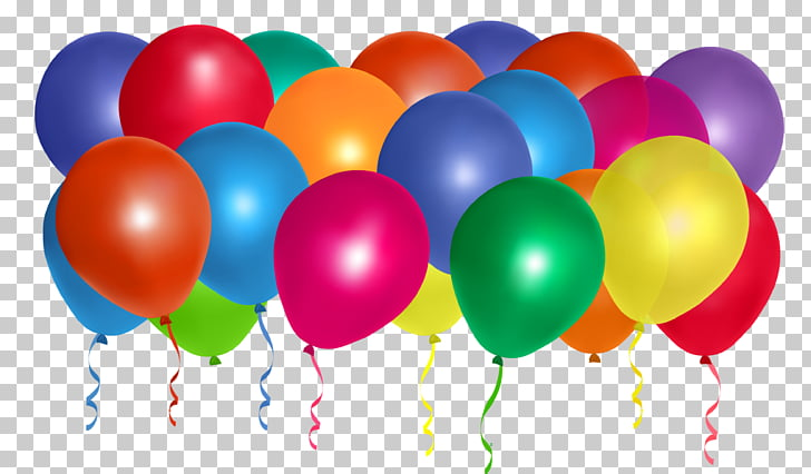 Balloon Birthday , Balloons Bunch , assorted.