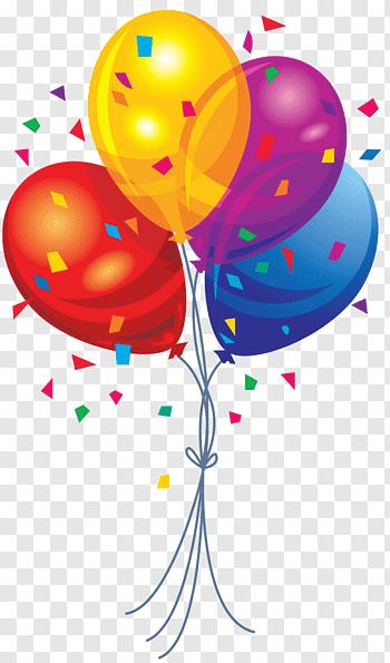 Pink balloons, Balloon Vecteur Computer file, Balloons free.