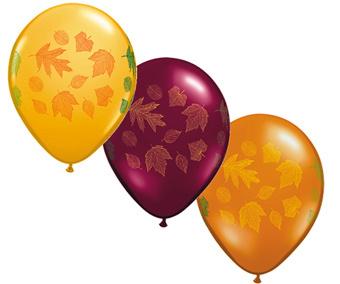 Autumn Leave balloons 11\