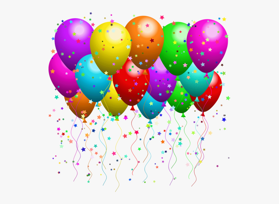Birthday Balloons Clipart , Png Download.