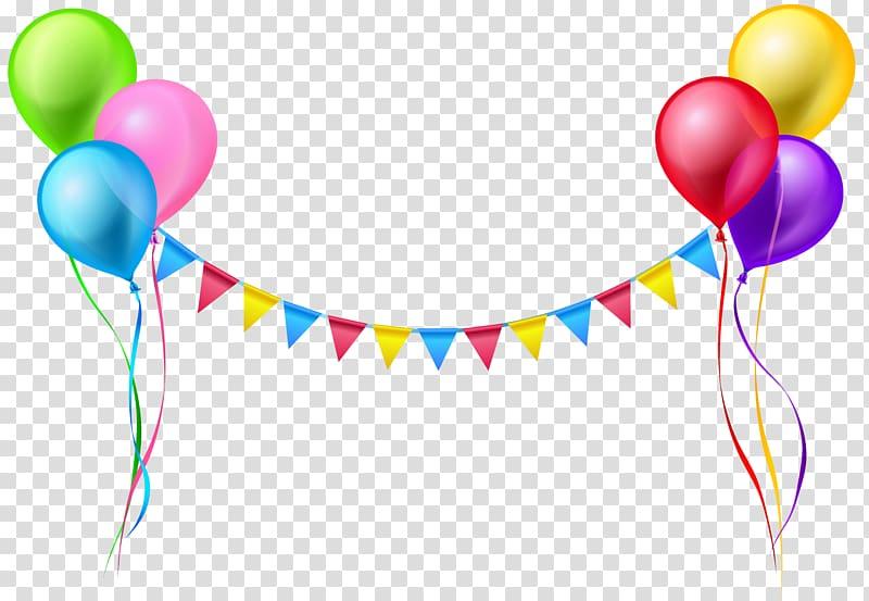 Balloon Serpentine streamer , Streamer and Balloons , assorted.