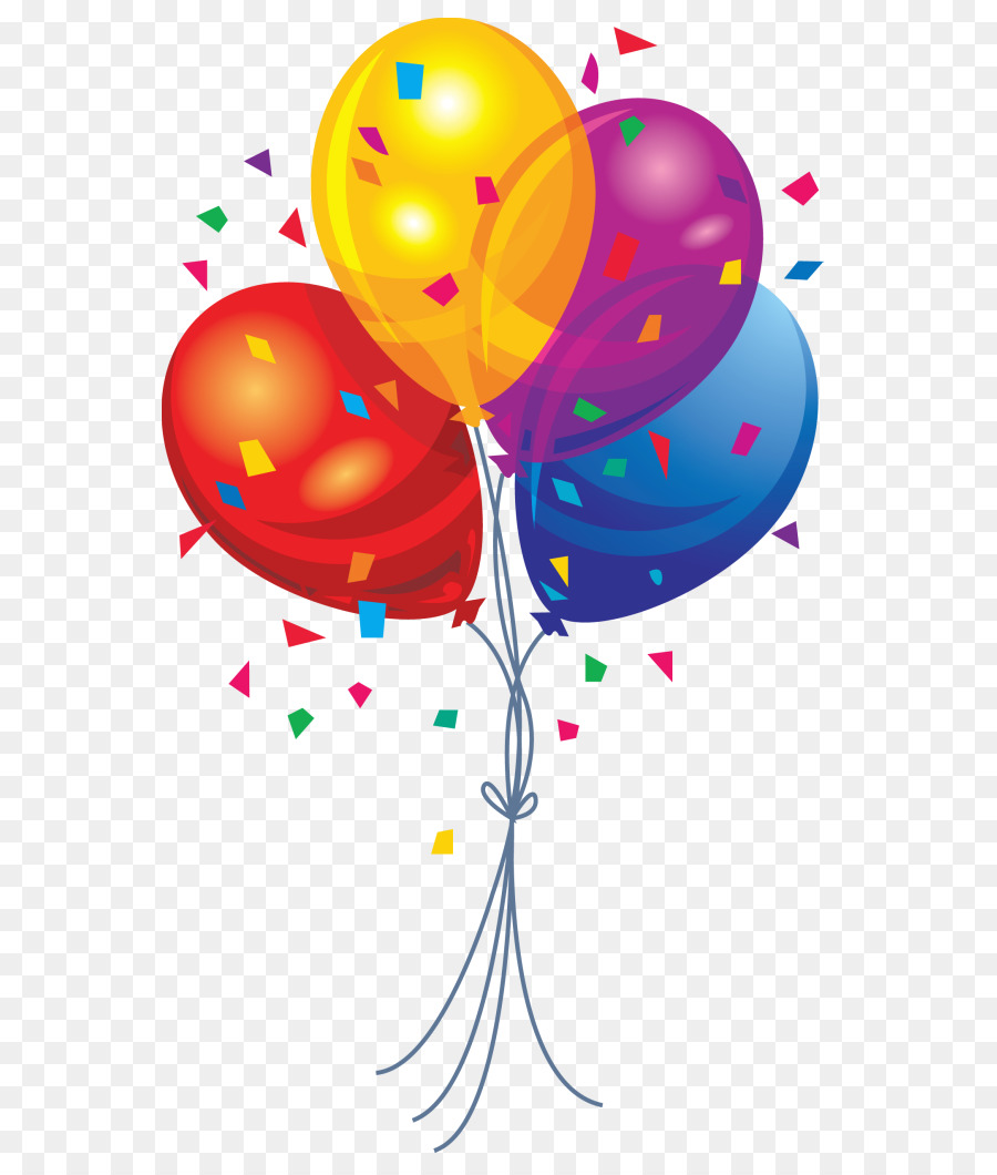 Balloons And Streamers Clipart & Free Clip Art Images #20816.