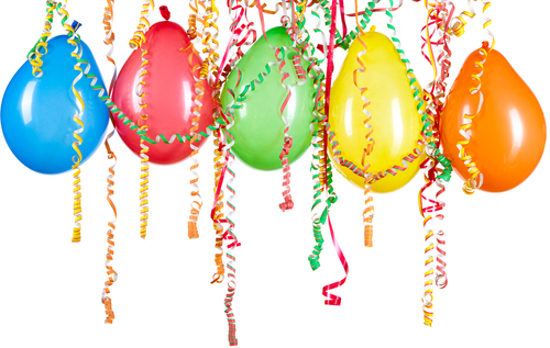 Free Pictures Of Balloons And Streamers, Download Free Clip Art.