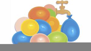 Water Balloon Toss Clipart Free.