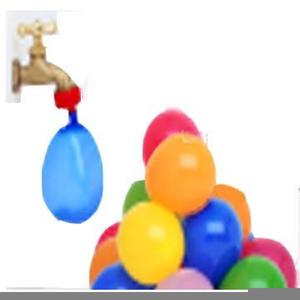 Water Balloon Toss Clipart.