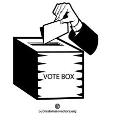 ballot box clip art free vectors.