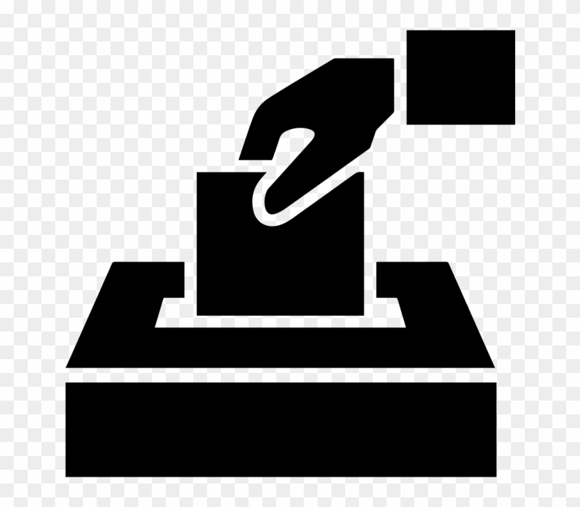 Download Free png Ballot Box Voting Black And White Free Transparent.