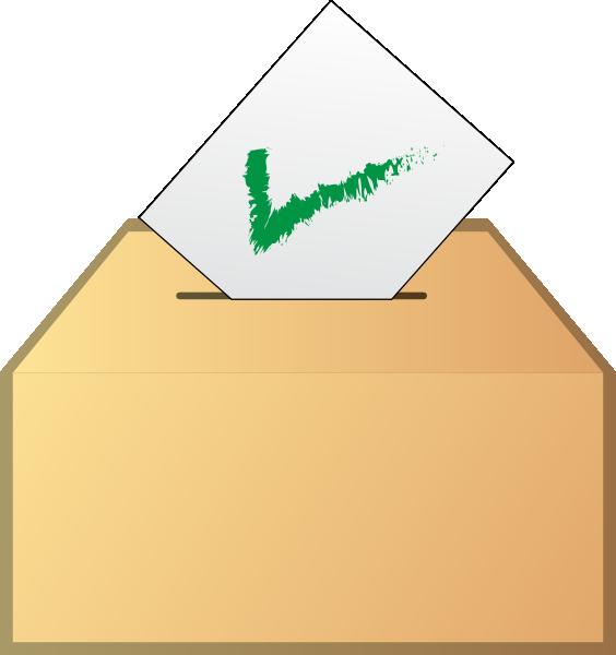 Free election ballot clip art.