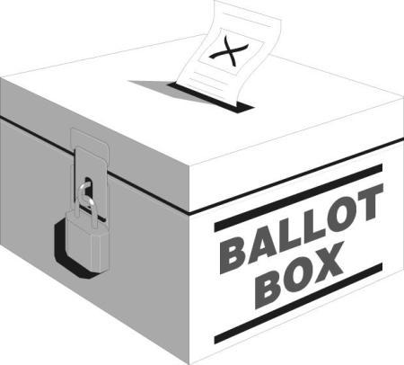Election Ballot Box Clipart.